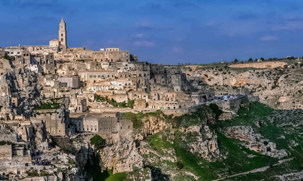 Matera it is located in Basilicata region between the Altamura village, where you can eat the best bread and the Palazzo Margherita, Francis Ford Coppola's exclusive resort.