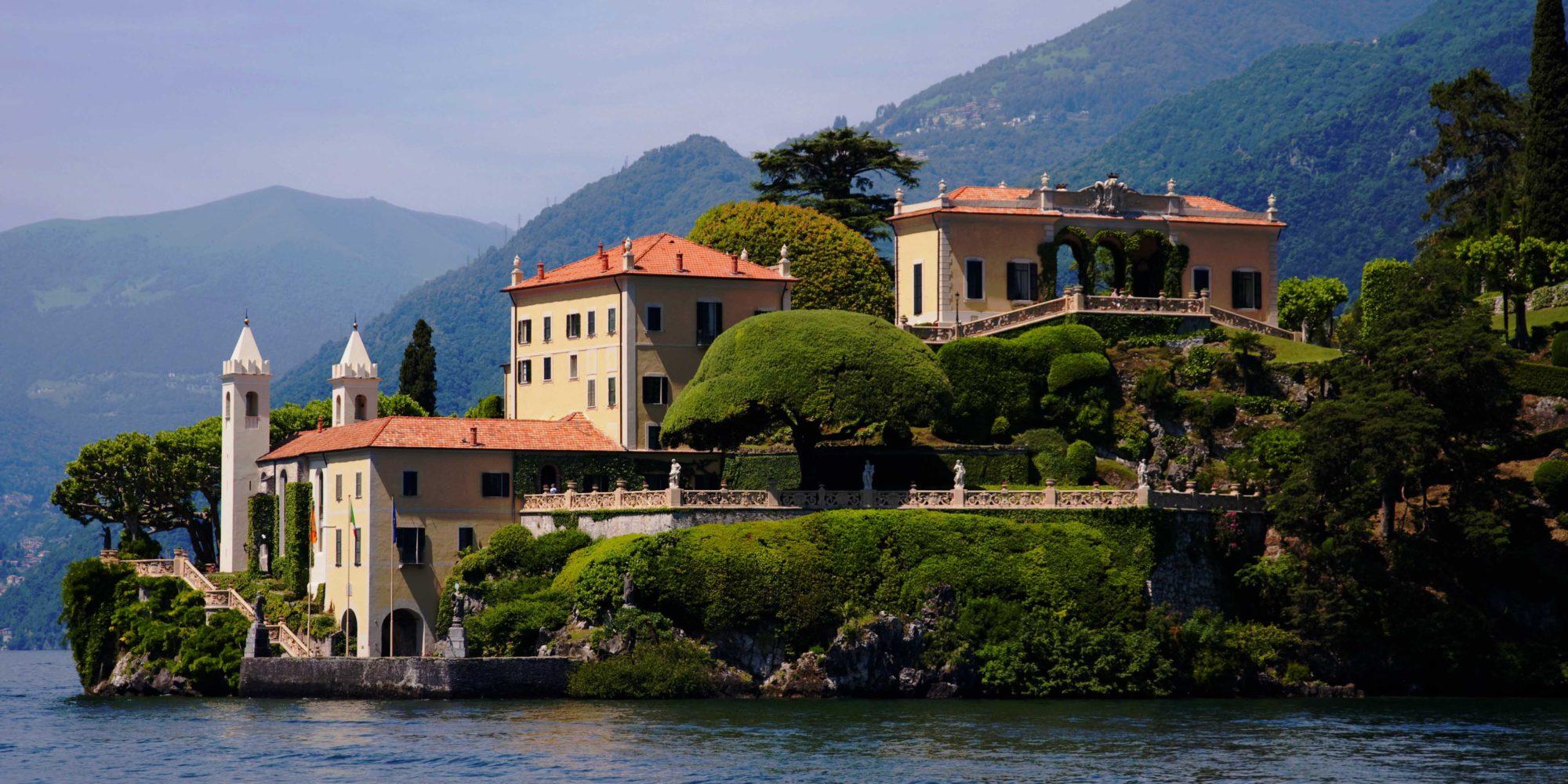 Villa del Balbianello the most beautiful villa on lake Como