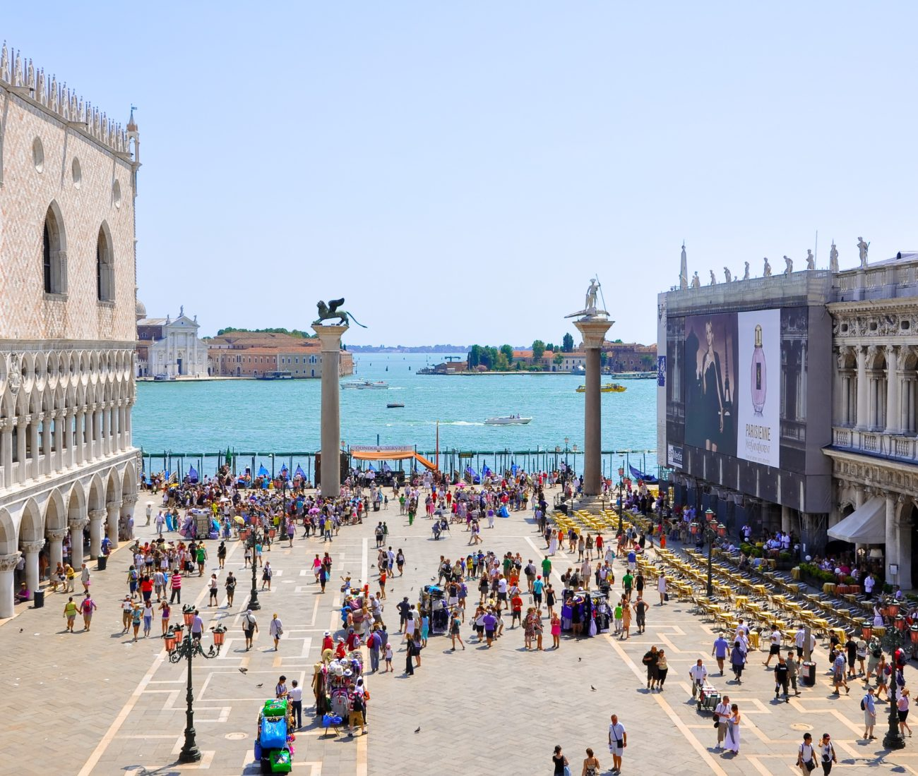 Venice St Mark's square Italy
